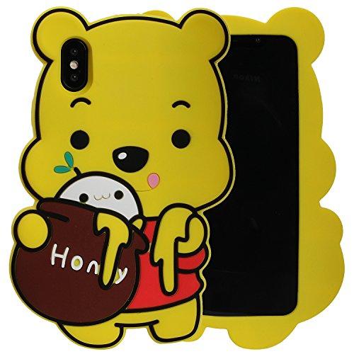 Note 8Schutzhülle, Phenix-Color 3D Cute Cartoon Soft Hello Kitty Silikon Gel Back Cover Case für Samsung Galaxy Note 8(2017) Fall AMP Prime, 56 (Kitty 5 Hello Galaxy Case Flip)