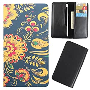 DooDa - For Lenovo S90 PU Leather Designer Fashionable Fancy Case Cover Pouch With Card & Cash Slots & Smooth Inner Velvet