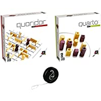 Lot de 2 Jeux Gigamic: Quarto Mini+Quoridor Mini+ 1 Yoyo Blumie