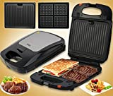 LUCKY-U Sandwich Maker, Hamburger Making Machine, Toaster Fleisch Wurst Grill Schinken Fleisch Elektrische Edelstahl-Food-Maker