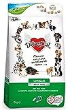 Disugual Adult Small Coniglio 2 kg - Alimento completo monoproteico, crocchette per cani di taglia piccola