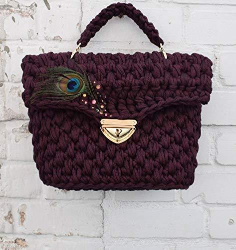 Handgemachte Häkeltaschen: