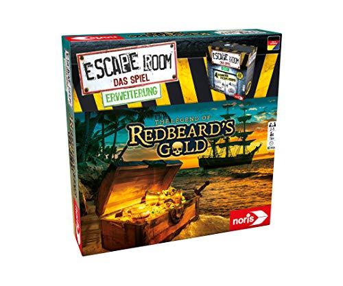 Noris Escape Room Redbeards Gold Deducción Niños y Adultos - Juego de Tablero (Deducción, Niños y Adultos, 60 min, 16 año(s), Caja Cerrada)