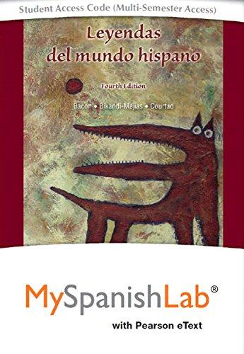 Student Access Card (Multi-Semester Access) para  Leyendas del Mundo Hispano