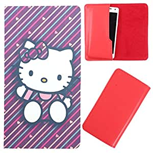 DooDa - For Lenovo A2010 PU Leather Designer Fashionable Fancy Case Cover Pouch With Smooth Inner Velvet