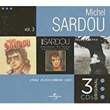 Coffret 3 CD Michel Sardou volume 3 : Le France / Les lacs du Connemara / Le Bac G