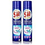 Sil sapur Teppich-& Polsterschaum 600ml - Für gezielte Anwendung (2er Pack)