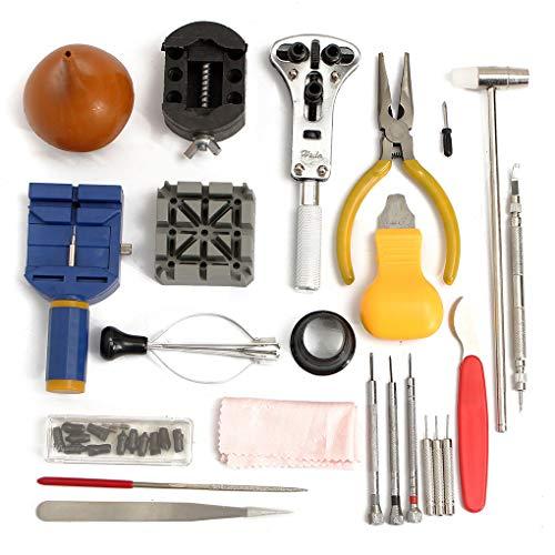 Hotaluyt Repair Tool Kit Battery Replacement Band-Verbindungs-Frühlings-Stab Set Uhr geöffnete Werkzeuge beobachten