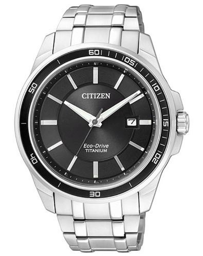 Citizen Herren-Armbanduhr XL Super Titanium Analog Quarz Titan BM6920-51E