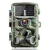 Campark Fotocamera da Caccia 14MP 1080P Fototrappola Infrarossi Movimento Attivato…