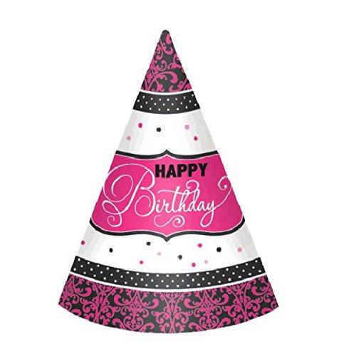 12 Chapeaux d'anniversaire élégant