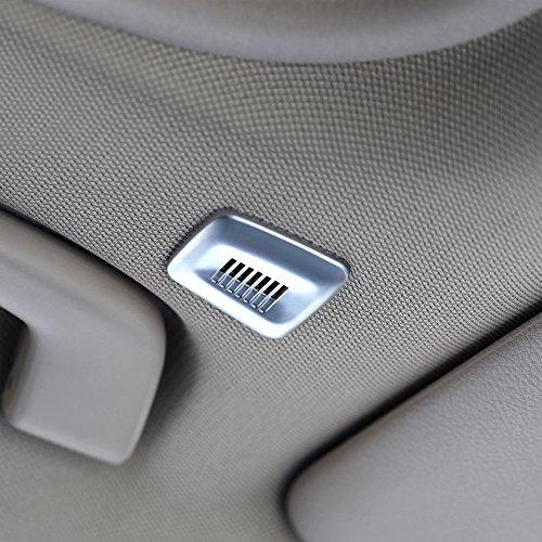 2PCS Auto Innen Dach Dome Mikrofon Verkleidung für 2345Serie X3X5X6F30F31F32F10F25F15F16E84