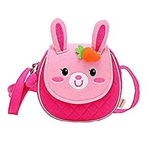 Moolecole Cute Bunny Kids Nursery Canvas Backpack
