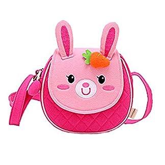 Moolecole Cute Bunny Kids Nursery Canvas Backpack