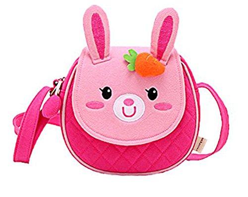 Moolecole Kinder Kinderhandtasche pink rabbit