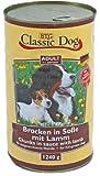 6er Pack Classic Dog Dose Lamm 6x1240g