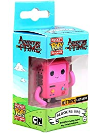 Funko - Porte Clé Adventure Time - B-Mo Pink Exclu Pocket Pop 4cm - 0849803077297