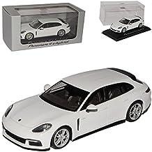 Porsche Panamera 4 e-hybrid Sport Turismo Shooting Brake Blau mit Dachbox Ab 2..