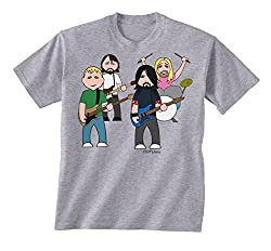 vipwees The Flu Fighters Childrens Kinder Unisex Music T-Shirt Boy/Girl Junge.
