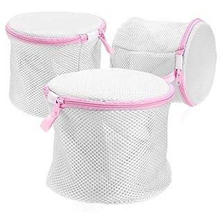 IGNPION Bra Washing Bag Laundry Lingerie Wash Bag for Underwear, Delicates, Socks (Set of 3)