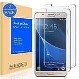 Vetro Temperato Samsung Galaxy J5 2016(2 Pack), GeekerChip Screen Protector Film Pellicola Protettiva in Vetro Temperato Per Samsung Galaxy J5 2016