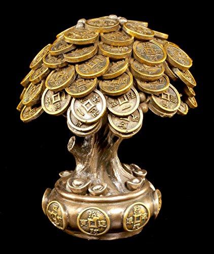 Geld Baum Feng Shui Figur - Glücksbringer Geldsegen Glück Glück, Geld, Baum
