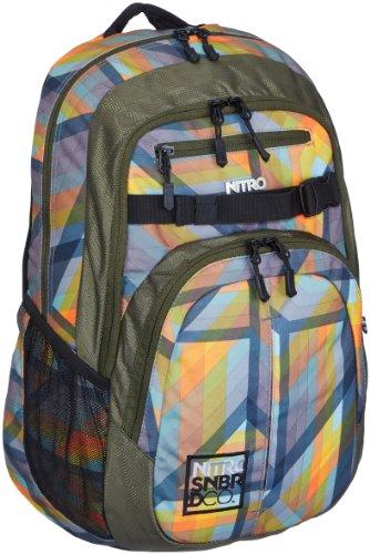 Nitro Snowboards Unisex Chase Pack Rucksack Geo Orange