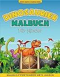 Dinosaurier Malbuch Für Kinder: 50 Malvorlagen Dinosaurier - Malbuch Dinosaurier ab 5 Jahren - Geschenkidee Für Kinder Mädchen und Jungen - Dinosaurier Buch Kinder - Ernest Creative Coloring Books