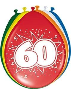 Folat 8Globos Número 60cumpleaños