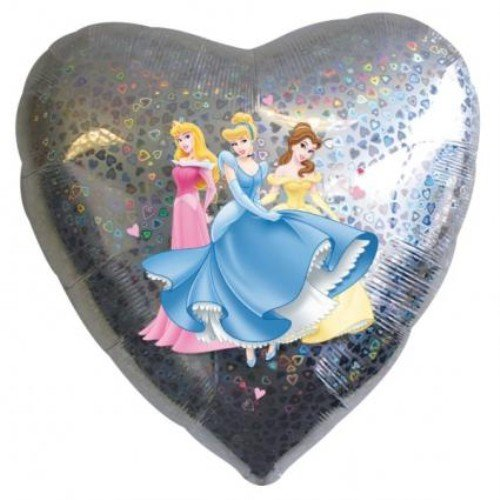 Amscan International Prinzessinnen Love Folienballon
