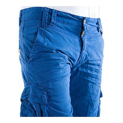 Timezone Herren Shorts Regular Maison Cargo Shorts regatta blue