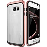 Coque Galaxy S7 Edge, VRS Design [Triple Mixx][Or Rose] - [Housse de Protection][Slim Case][Transparent Etui][Anti Chocs Case][Military Grade Protection] Pour Samsung Galaxy S7 Edge