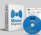 Mister Diagnose® Komplettes Cables LKW – für Koffer Diagnose Autocom Delphi DS150 Test