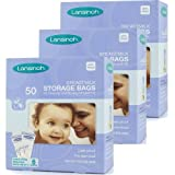 Pack of 50, 100, 150, 200 LANSINOH Breastmilk Storage Bags !!! (3x50)