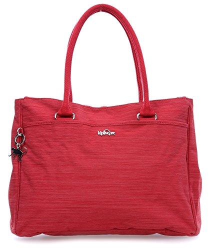 Kipling New Halia, Borsa con Maniglia Donna Rot (33U Dazz Red)