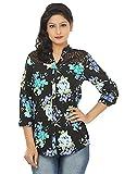 Adhaans Women's Floral Print Casual Shir...