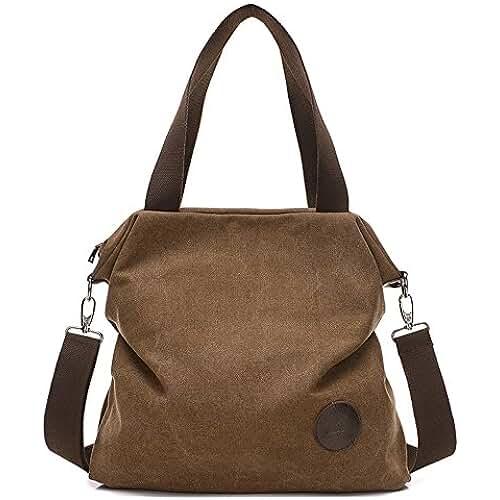 ofertas para el dia de la madre BYD - Mujeres Bag Bolsos bandolera Mutil Function Bag Crossbody Bag Tote Carteras de mano