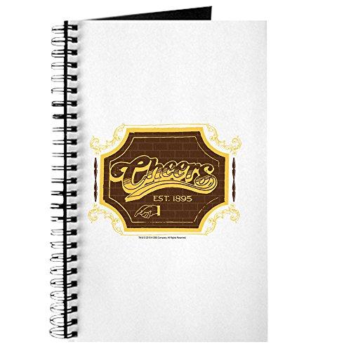 CafePress - Cheers Logo - Spiralgebundenes Tagebuch, persönliches Tagebuch, blanko (Cheers Logo)