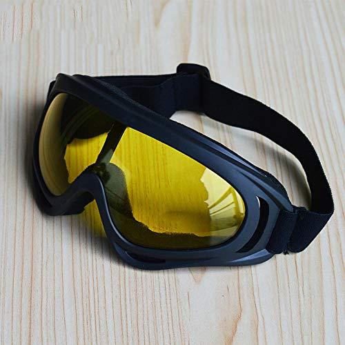 NingVong Winddichte Brille, Anti-Mücken-Spezial, Sandschutz, Anti-Asche, Staubschutz, Schutzbrille@A3