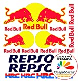 KIT ADESIVI Red Bull