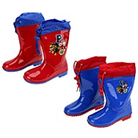 Boots Rain Paw Patrol Mis. 22 24 26 28 30 32 with Free Umbrella