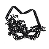 Scrox Carnival Party Maquillage Masque en dentelle noire Halloween Lunettes sexy Princess Mask