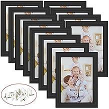 Giftgarden Conjunto de Marcos de Fotos Adecuado para Los Certificados y Documentos 12 PCS 13x18
