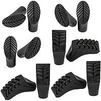 BB Sport - Puntas para palos de nordic walking (goma, 12 unidades)