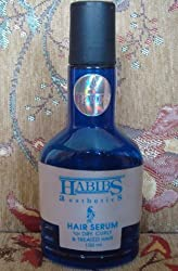 Habibs Aesthetics Hair Serum for Dry, Curly & Treated Hairs - 100 ml
