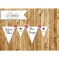 Banderola Comunión Personalizada - Guirnalda para fiestas y celebraciones