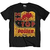 ZZ Top Men's Speedoil Short Sleeve T-Shirt, Black, X-Large