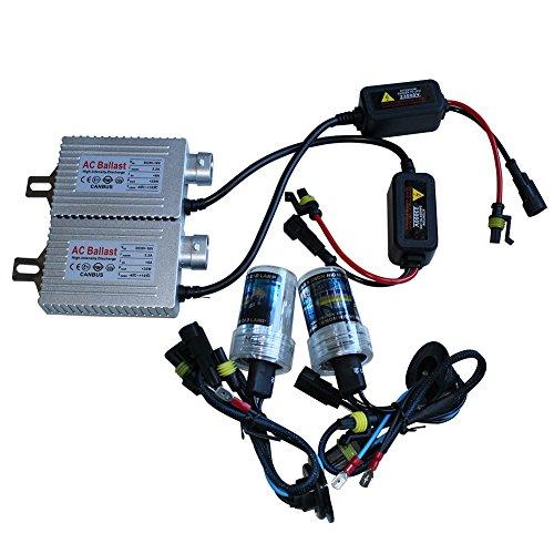 Generic H7HID Kit di conversione 5000K 35W AC Canbus senza errori lampadina con base in metallo