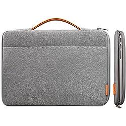 Inateck 13-13,3 pulgadas Macbook Macbook Pro Pro Retina manga caso de la cubierta protectora del bolso de Netbook Ultrabook Llevar protector del bolso de 13 MacBook Air, MacBook Pro (Retina), gris oscuro