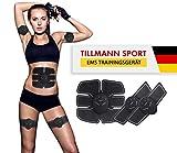 EMS Trainingsgerät von Tillmann Bauchmuskeltrainer Fitness Geräte Elektrostimulation Massagegerät Muskelaufbau und Fettverbrennung -von Spitzensportlen enwickelt-